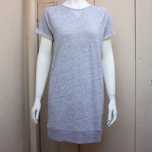 GAP Gray T-shirt Sweater Dress